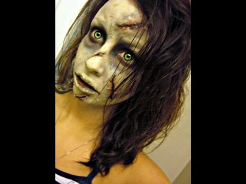 Halloween Series 2012: Linda Blair / Regan from the Exorcist makeup tutorial how to