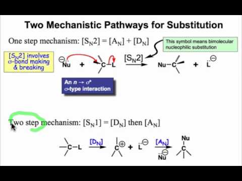 [SN2] [AN] and [DN] - Elementary Steps for Substitution