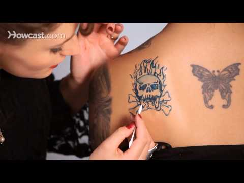 How to Make a Fake Tattoo, Part 4 | Special Effects Makeup Tutorial