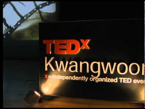 TEDxKwangwoon - Jean G. Poulot - 'The Cinematographer' Sand Painting- 03/27/10 - English Version