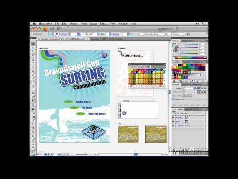 Illustrator: Libraries and content   lynda.com