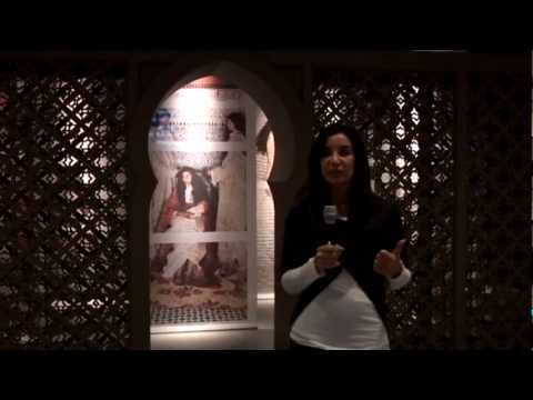 Lalla Essaydi talks about the Embodiment part of the exhibit