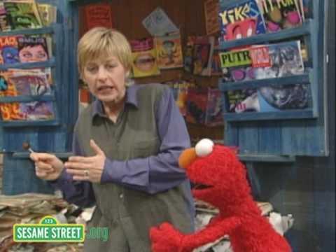 Sesame Street: Ellen DeGeneres And Elmo