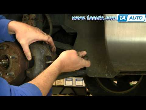 How To Install Replace Front Disc Brakes Dodge Intrepid 93-97 1AAuto.com