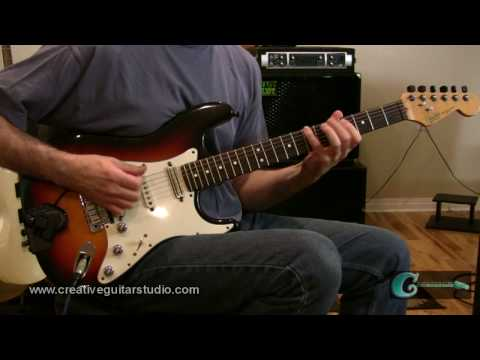RHYTHM GUITAR: Reggae Lead Fills & Hooks