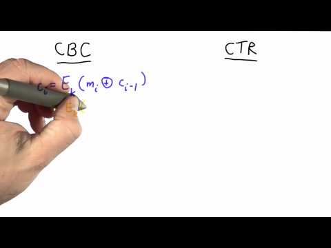 Counter Mode - CS387 Unit 2 - Udacity