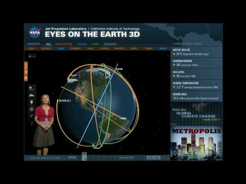 A tour of NASA's 'Eyes on the Earth 3D'