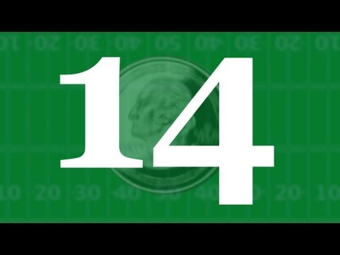 14 Super Bowl Coin Tosses - Numberphile