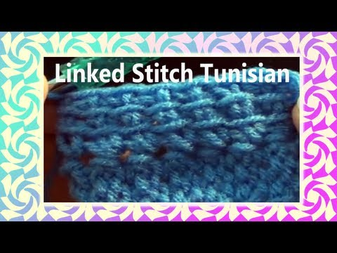 The Art of Crochet by Teresa - Linked Crochet Stitch - Tunisian