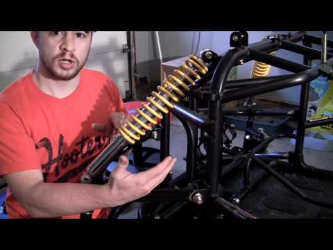 How to Build a Go Kart - 6 - Front Struts