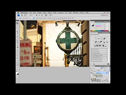 Photoshop: San Francisco sign pt. 1: Adding copy  | lynda.com