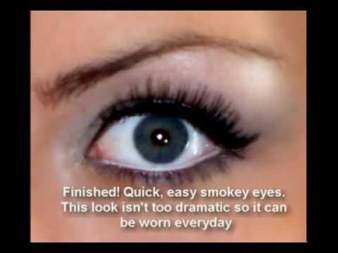 Quick, Basic, Everyday Grey Smokey Eyes Tutorial