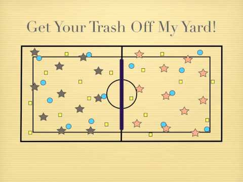 P.E. Games - Get Your Trash Off My Yard!