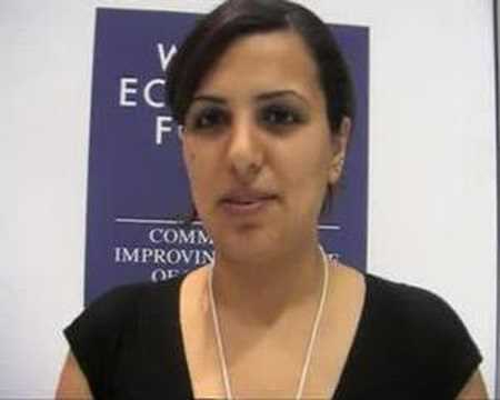Middle East World Economic Forum 2008 - Youth Delegate