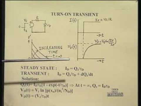 Lecture - 2  Modelling of PN Junction Diodes