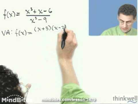 Calculus: Functions with Asymptotes and Holes