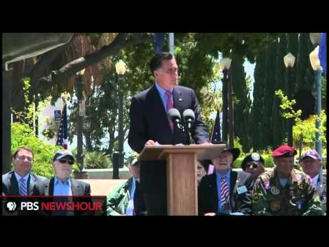 Watch Mitt Romney's Speech at San Diego Memorial Day Tribute