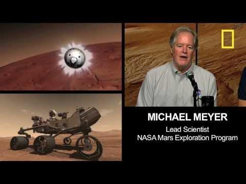 "Mars Rover's ""Seven Minutes of Terror"""