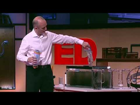 Michael Pritchard makes filthy water drinkable