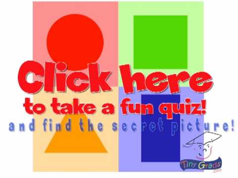 Learn Shapes Interactive Video Quiz