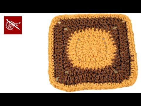 Art of Crochet by Teresa - Crochet Circle to Square - Granny Square