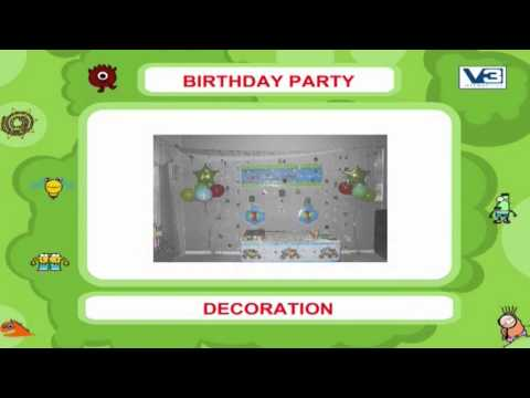 My First 1000 words on Birthday Party