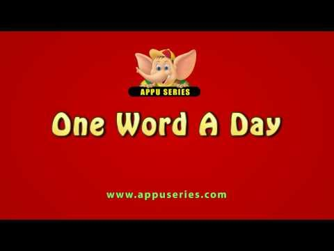One Word A Day - Abide (HD)