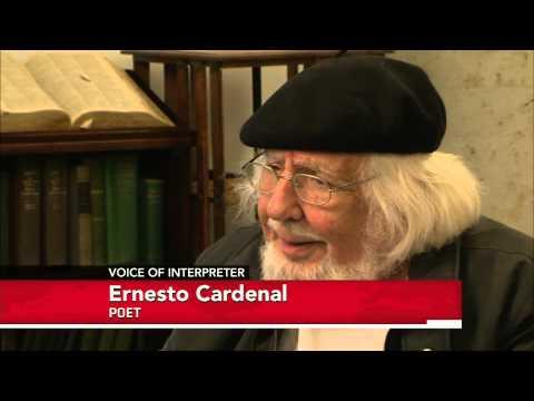 Poet, Activist Ernesto Cardenal Explores Cosmos, Humanity in Verse