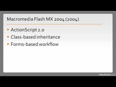 History of Adobe Flash Professional