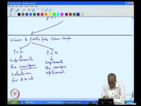 Mod-11 Lec-39 Back To Linear Systems Part 2