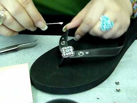 Embellishing with Flat Backs - Part 1