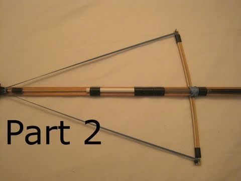 How to Make a Small .Cal Crossbow (Part 2)