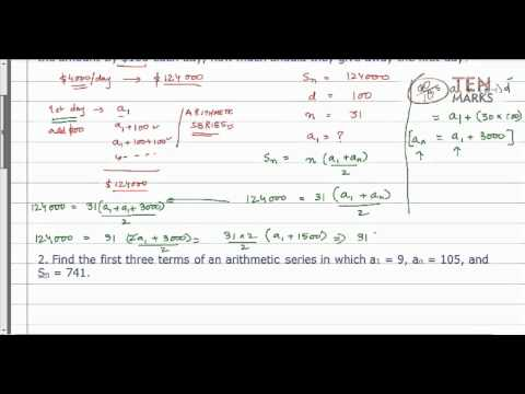 Use the Sum of an Arithmetic Series