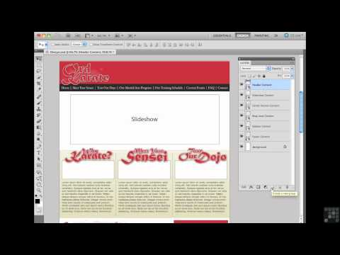 Building Websites with WordPress Tutorial | Working with Layers| InfiniteSkills