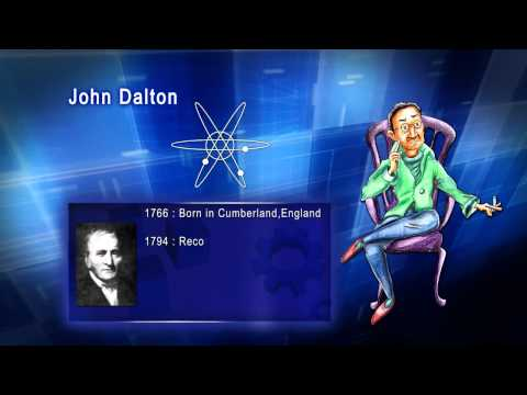 Top 100 Greatest Scientist in History For Kids(Preschool) - JOHN DALTON