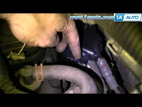 How To Install Replace Spark Plug Wires Chevy S-10 Pickup Blazer GMC Jimmy 4.3L 1AAuto.com