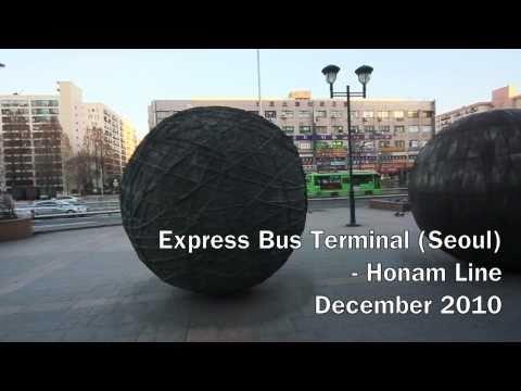 [Quick View] Seoul Express Bus Terminal (Honam Line)