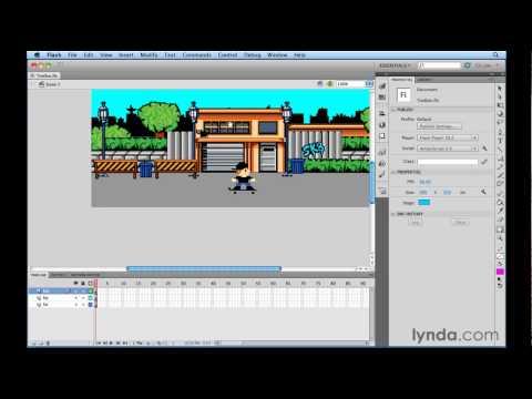How to use Flash keyboard shortcuts | lynda.com tutorial