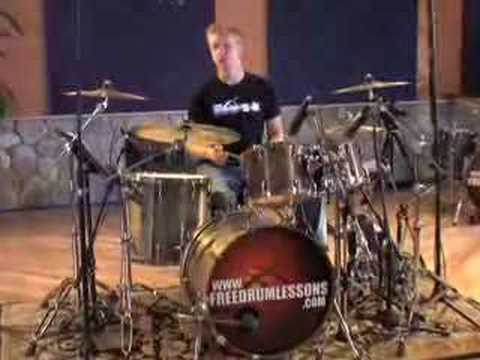 Broken Sixteenth Note Drum Fills - Drum Lessons