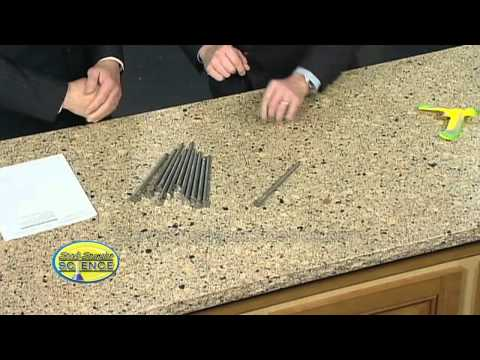 Balancing Nails - Cool Science Trick