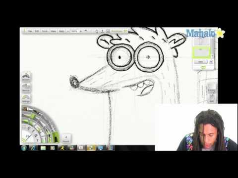 How to Draw Rigby From the Regular Show