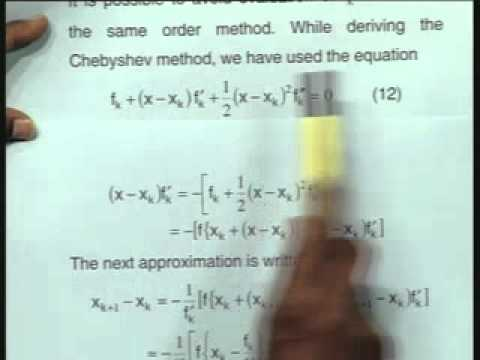 Lec-4 Solution of Nonlinear Algebraic Equations-Part-3