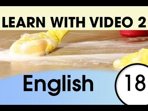 Learn English with Video - English Expressions That Help with the Housework 2