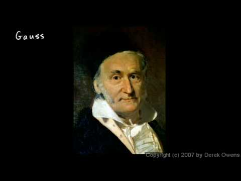 Complex Numbers, Part 8 - Carl Friedrich Gauss
