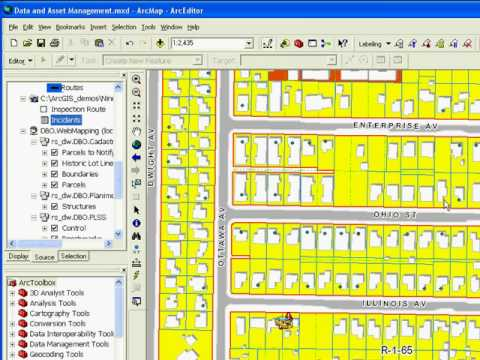 ArcGIS 9.3 Data Mgmt Part 2:  Experienced desktop user employing ArcEditor in a Planning Department