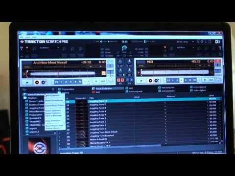 Traktor scratch pro video 16 Import music from your pc