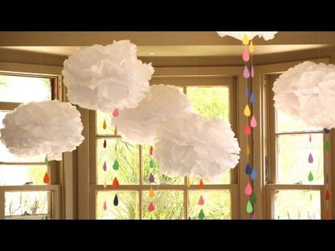 Rainbow Showers Mobile: How to Make || KIN DIY