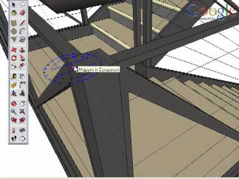 Google SketchUp Toolbar Series: Protractor