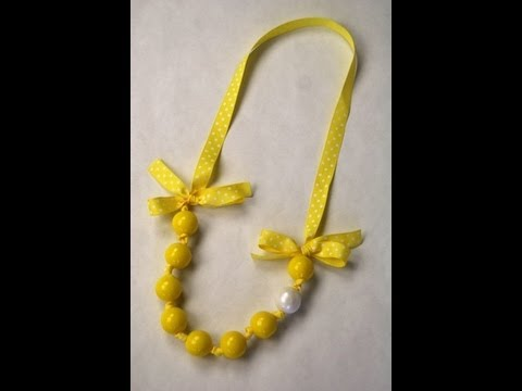 Gum Ball Necklace