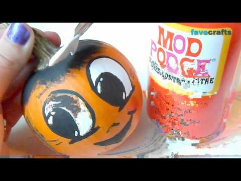 How to Paint Pumpkin Faces